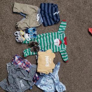Baby boy clothes 3 months & 3-6 months
